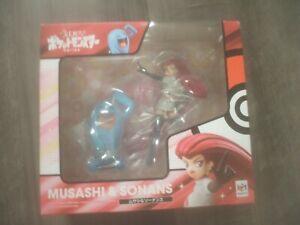 G.E.M. Series Pokemon Musashi & Wobbuffet Megahouse essie Team Rocket figure toy