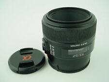 Sony 50mm f/2.8 Macro Lens for Sony Alpha A Mount DSLR & DSLT Camera, SAL50M28