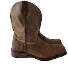 Ariat 13 Men's Rambler Western Boot, Earth/Brown Bomber