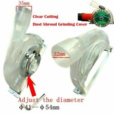 "Clear Cutting Dust Shroud Grinding Cover for Angle Grinder 3""/4""/5""Saw Blades"