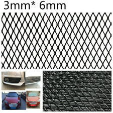 Universal Durable 3x6mm Mesh Aluminium Car Racing Grille Mesh Vent Tuning Grill