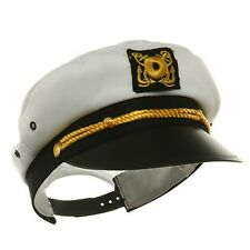 Child Ship Navy Officer Yacht Sea Skipper Admiral Kid Captain Hat Cap Costume