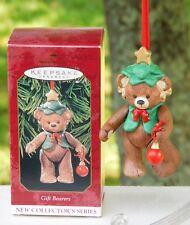 Gift Bearers - 1999 Hallmark Ornament 1st in Porcelain Gift Bearers Series MIB