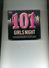 101 GIRLS NIGHT - KATY PERRY RIHANNA DONNA SUMMER AMY WINEHOUSE - 5 CDS - NEW!!