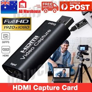 HDMI Video Capture Card USB 3.0/4K 🎁 Recorder for Video Live Streaming / Game