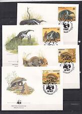 Paraguay 1985 - FDC - Dieren / Animals / Tiere  (WWF / WNF)