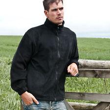 Fleece Zip Collared Coats & Jackets for Men
