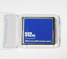 512MB CompactFlash 512M CF Memory Card Genuine Origenrial Chips New Wholesale