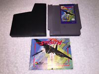 Stealth ATF (Nintendo Entertainment System 1989) NES Game w/Manual, Sleeve Ex/NM