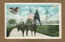 """Ft. Sheridan,IL Illinois Color Guard """"In Unity stand by the Red,White and Blue"""