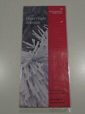 Northwest Airlines Timetable  December 15, 1991 =