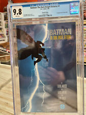 BATMAN: The DARK KNIGHT RETURNS #1 (2nd Print, 1986) CGC Graded 9.8 ~White Pages