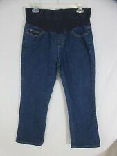 e9f25fac575d7 Maternity Two Hearts Jeans Size S Dark Wash