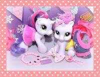 ❤️My Little Pony G3.5 Baby Newborn Cuties SWEETIE BELLE White Unicorn Lot❤️