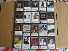 Lot of 20 SEALED rare JAZZ cassettes : Curtis Counce, Peter Erskine, Art Pepper