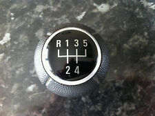VAUXHALL CORSA C/ ASTRA G / VECTRA B BLACK GEAR STICK KNOB COMPLETE WITH SPRING