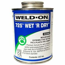 More details for solvent weld cement 250ml ideal for pond & swimming pool pipe work