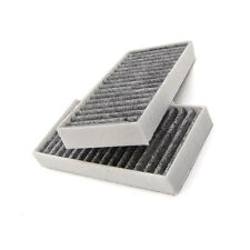 2pcs/Set Replace Carbon Cabin Air Filter for Jeep Wrangler 11-16 OE# 55111302AA