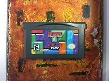 Tetris Worlds Gameboy Advance GBA CLEAN Tested Working Authentic