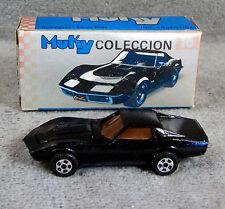 MUKY ~ 1968 CORVETTE ~ BLACK ~ ARGENTINA
