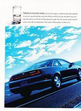 1998 Honda Accord EX V-6 Coupe 2-page Original Advertisement Print Car Ad J530