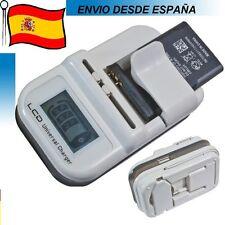 CARGADOR DE BATERIA UNIVERSAL DE RED,COCHE, USB CAMARAS PDA MOVILES ETC