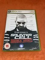 XBOX 360 game TOM CLANCY'S SPLINTER CELL DOUBLE AGENT with manual