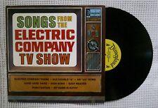 DISNEY Song From Electric Company TV Show Orig '73 Chidren's Disneyland LP VG++