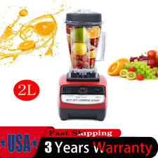 2l 1500w 2hp Heavy Duty Commercial Grade Blender Mixer For Juicer Food Fruit Ice