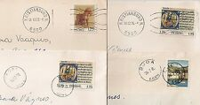 4 COVERS NORGE NORVEGE TO DENMARK. L453