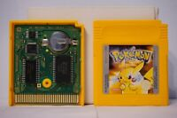 Pokémon Yellow Version Special Pikachu Edition nintendo gameboy game boy clean