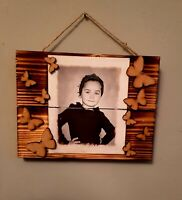 Personalised Photo Gift on pallet wood/ perfect gift for birthday anniversary