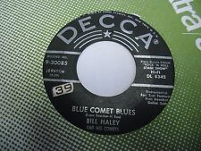 "Bill Haley and His Comets Rudy's Rock / Blue Comet Blues 7"" 45 rpm Decca VG"