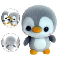 Soft Mini Penguin Figure Animal Plush Toy Kids Birthday Gift Home Car Ornaments
