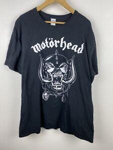 Motorhead Mens T Shirt Size 2XL Crew Neck Short Sleeve Large Graphic Adult Black