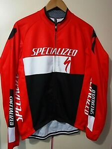 Mens SPECIALIZED Long Sleeve Soft Shell ..  XL