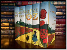 The Complete Wizard Of Oz Custom 5 Volume Gift Set New Hardbacks by L Frank Baum