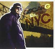 Oscar G-Live From NYC CD Double CD  Very Good