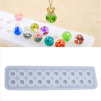 Resin Silicone Ball Beads Mold Pendant Mould DIY Craft Jewelry Making ToolJ C mo