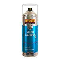 x2 Hycote® 400ml Clear Lacquer Aerosol Car Spray Paint Tough Acrylic Formula