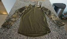 LBX Binter Defense Digital Camo Long Sleeve Camouflage Combat Shirt Men's sz SM