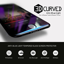 Anti Blue-Ray 3D Full Cover Tempered Glass Screen Protector for iPhone 7/7 Plus