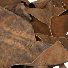 Giraffe Leather Scrap - 1lb. Scrap Leather, Cheap, Good Quality, USA, FLASH SALE