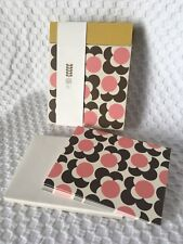 New Orla Kiely Note Cards Stationery Paper Greeting Cards FLOWER