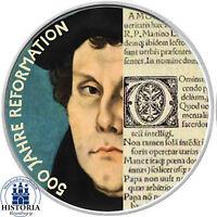 Deutschland 20 Euro Silber 2017 Silbermünze 500 J. Reformation - Luther in Farbe