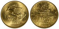 200 Lire 1978 Donna al Telaio San Marino §846