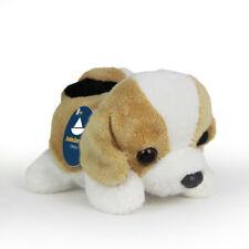 Stofftier Beagle Baby liegend, Hund, Kuscheltier, Plüschtier (L. ca. 12cm) Welpe