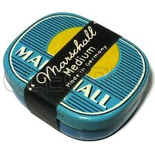 100 Grammophonnadeln in Marschall Medium Blechdose / steel needles Vintage tin