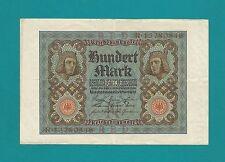 Schein-100 MARK-1.11.1920-Reichsmark-
