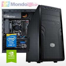 PC WORKSTATION Intel i7 7820X - Ram 32 GB - SSD M.2 - HD 2 TB - Quadro P2000